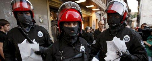 La policía autonómica española