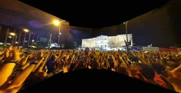 En Grecia, el Estado se hunde, los barrios se organizan