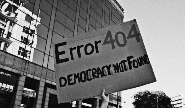 falsa democracia