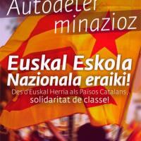 Autodeterminazioz, Euskal Eskola Nazionala eraiki!