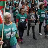 Más de 300 días de huelga en las residencias de la tercera edad de Bizkaia