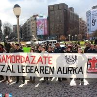 Contra la criminalización social y las sanciones por protestar contra la ley mordaza