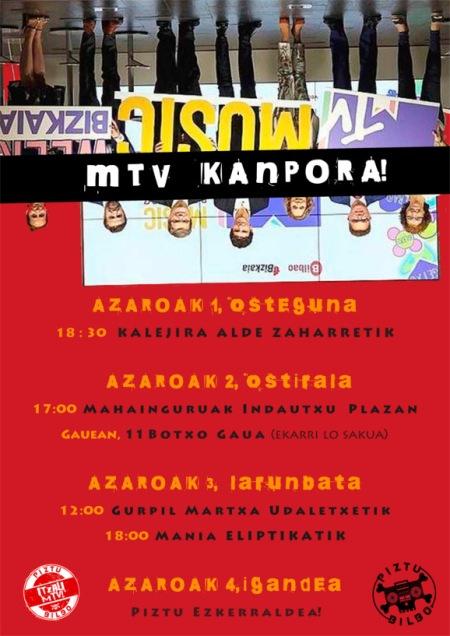 EGITARAUA MTV