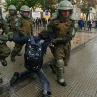 Chile. Contra la violencia fascista a estudiantes